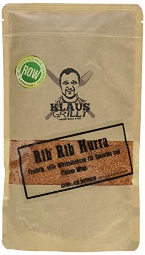 Klaus grillt Rib Hurra Rub, 1er Pack (1 x 250 g)