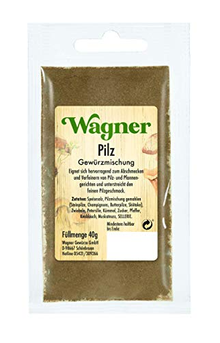 Wagner Gewürze Pilz Würzmischung, 40 g