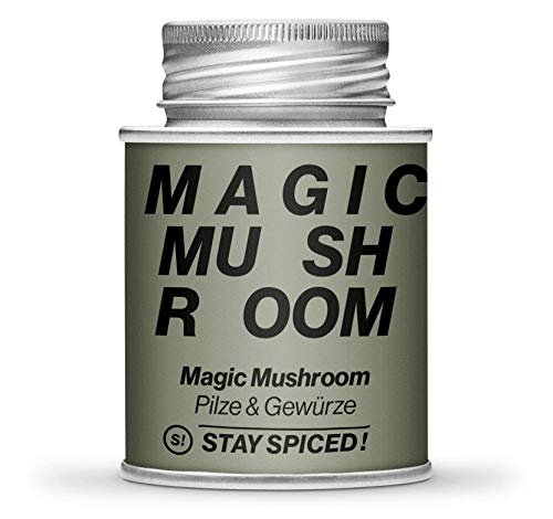 Magic Mushroom von STAY SPICED ! I Hochwertige Pilze & Gewürze in Premiumqualität I Verpackt in 170 ml Weißblechdose