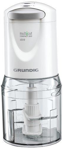 Grundig MM 5150 Multi-Cut Compact Duo Zerkleinerer (400 Watt, 0,5 l Kunststoffbehälter)