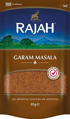 Rajah Garam Masala – Indische Gewürzmischung für zahlreiche Gerichte – 1 x 85 g
