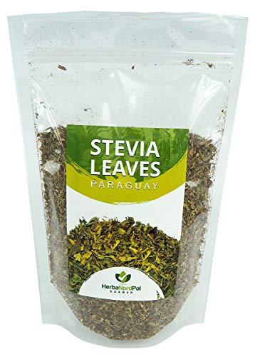 Steviablätter getrocknet aus Paraguay Loser Tee, Stevia | 2-3cm sorgfältig verarbeitet | 400G