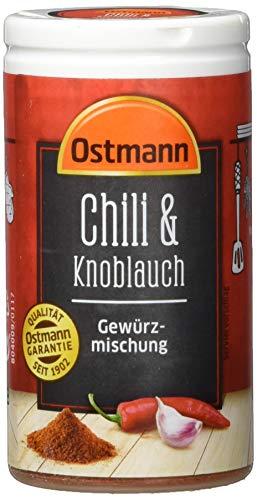 Ostmann Chili und Knoblauch Gewürzmischung, 4er Pack (4 x 40 g)