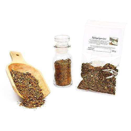 Spargel Gewürz   Gewürzmischung und Kräuter getrocknet in Premium-Qualität   Asparagus Blend   glutenfrei   20g