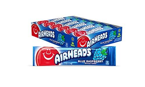 Air Heads Blue Raspberry 15.6g (36 Bars )