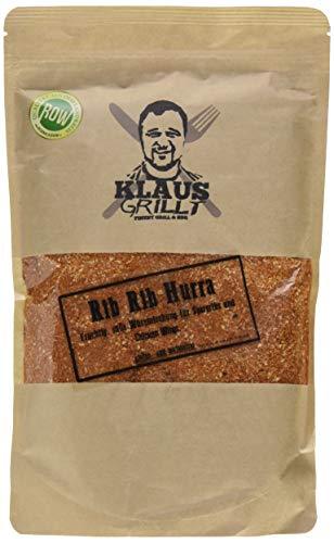 Klaus grillt Rib Hurra Rub, 1er Pack (1 x 750 g)