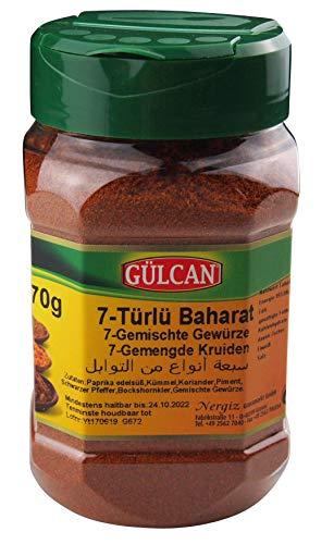Gülcan - 7 Gewürze Mischung - Karisik Baharat (170g)
