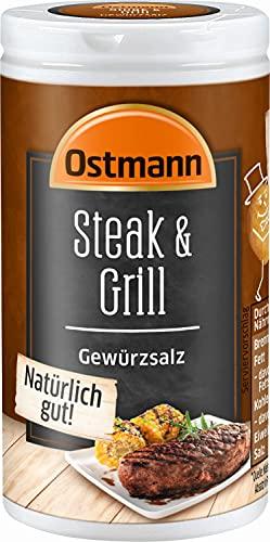 Ostmann Steak & Grill Gewürzsalz, 4er Pack (4 x 60 g)