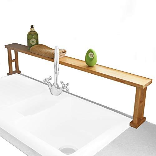 Küche über Spüle Regal Spülbeckenregal, Badregal aus Bambus