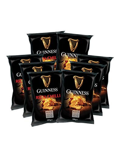 5 x 150g Guinness Chips Mix 'RICH CHILLI' + 5 x 150g 'GUINNESS FLAVOUR'