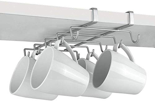 Metaltex 364928039 My Mug Schrankeinsatz Tassenhalter für 10 Tassen