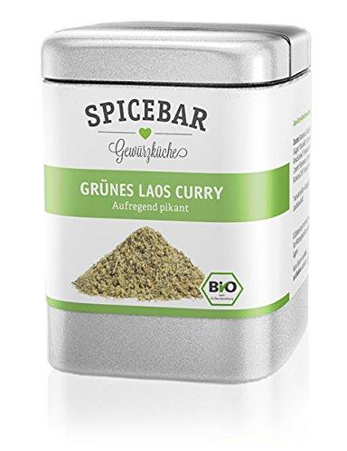 Spicebar Grünes Laos Curry, Aufregend Pikant, Bio (1 x 55g)