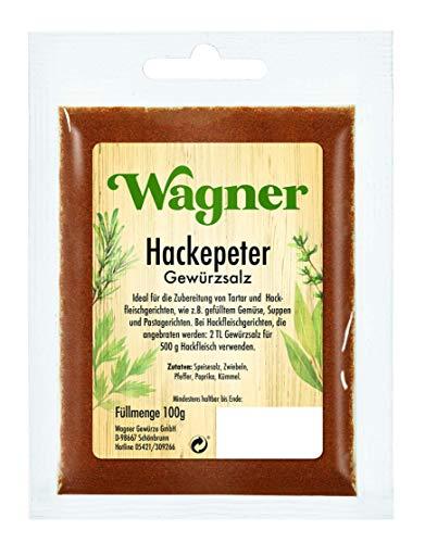 Wagner Gewürze Hackepeter Gewürzsalz, 100 g