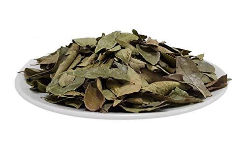 Bio Curry Blätter ganz 250g Rohkost, getrocknete ganze aromatische Curryblätter, Ayurveda Gewürz aus Sri Lanka, mit Stängel