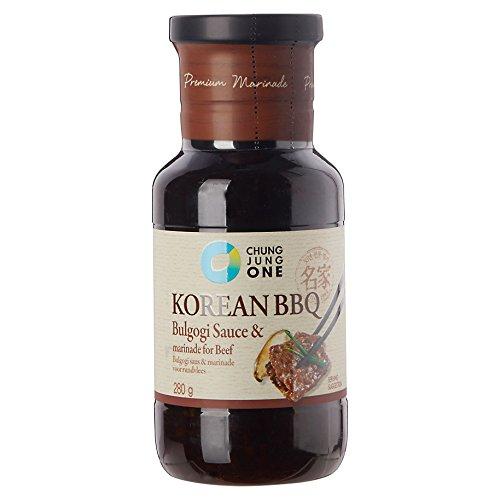 CJO Premium Korean BBQ Bulgogi Sauce & Marinade for Beef 280g