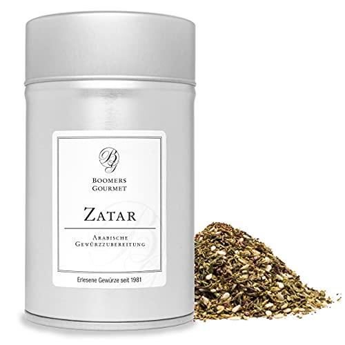 Boomers Gourmet - Zatar l Zahtar l Zaatar Gewürzmischung - Gewürzdose 11,5 cm - 100 g