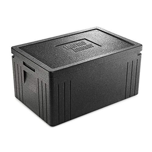 thermohauser EPP-Thermobox GN 1/1 Eco Line inklusive Deckel - 45 Liter Volumen - 60 x 40 x 30,5 cm - Basis-Serie