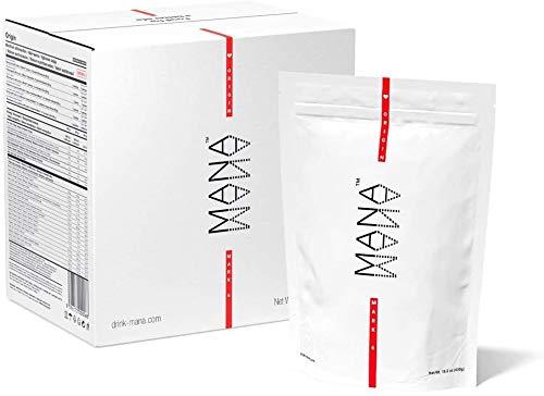 Mana™ Pulver   Ursprung - Pulverfutter   Mahlzeitenersatz   Ernährungsphysiologisch vollständig   35 Mahlzeiten x 400 kcal