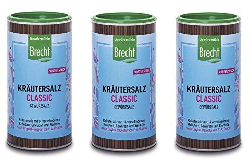 Kräutersalz classic, 3 x 500g
