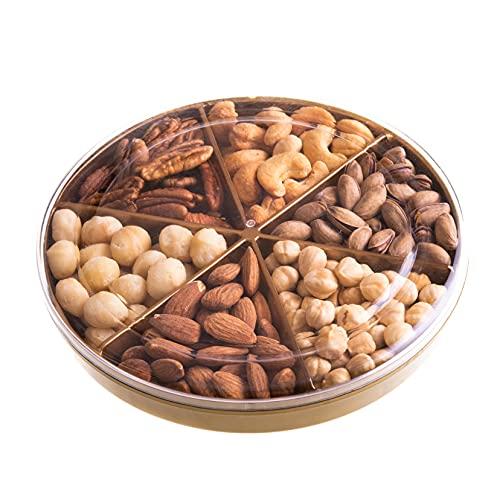 Palanci   Gesunde Snacks   Premium Nüsse Mix 365 gr   Pistazien, Macadamia Nüsse, Pekannüsse, geröstete Cashewkerne, Mandeln ganz geröstet, Haselnüsse   Vegan   Nüsse Großpackung 350 gr.