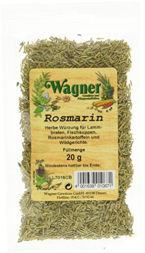 Wagner Gewürze Rosmarin (1 x 20 g)