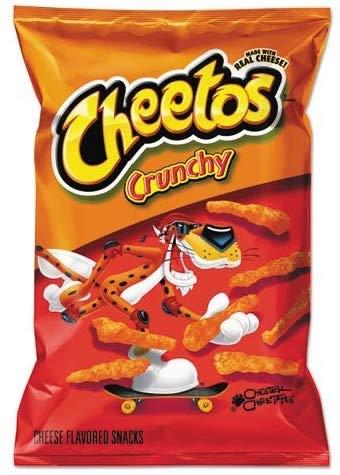 CHEETOS Crunchy Cheese - Large / Groß - 226,8g / 8oz