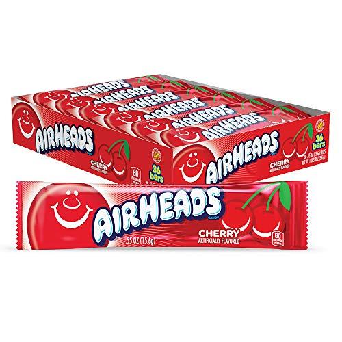 Airheads Cherry 15g (Pack of 36 / Packung mit 36 Stück)