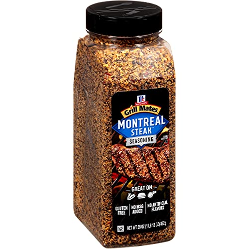 McCormick Montreal Steak Gewürz-Neuheit - Ein Behälter von 822 Gramm