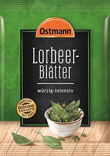 Ostmann Lorbeerblätter ganz Lorbeer-Blatt zum Fleisch einlegen Extra-Gewürz, 1 Stück x 5 g