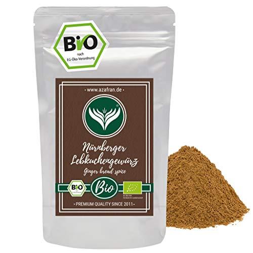 Azafran Bio Nürnberger Lebkuchengewürz zum Backen und Lebkuchen selber machen 250g