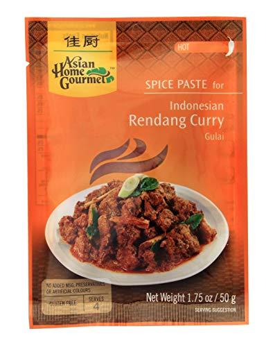 Asian Home Gourmet Indonesische Rendanpaste für Curryfleisch - Rendang Curry Thailand 50g