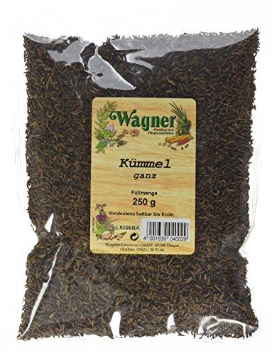 Wagner Gewürze Kümmel ganz (1 x 250 g)
