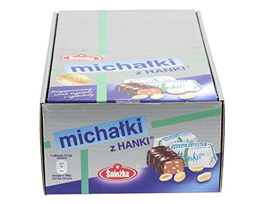 Michalki 2Kg. Original Erdnuss-Pralinen / polnische Spezialität