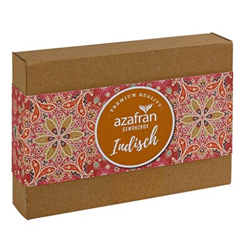 Azafran Gewürz Geschenk Set Indien (inkl Curry und Masala) - Geschenkset