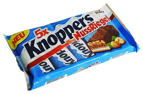 Knoppers Nuss-Riegel 5er Mulitpack, 1er Pack (1 x 200g)