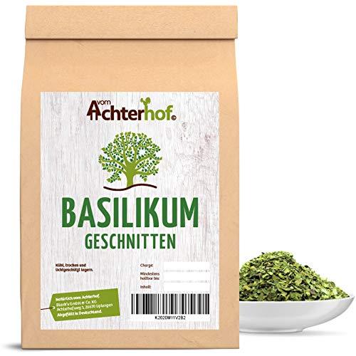 Basilikum getrocknet gerebelt 250 g Gewürz vom-Achterhof