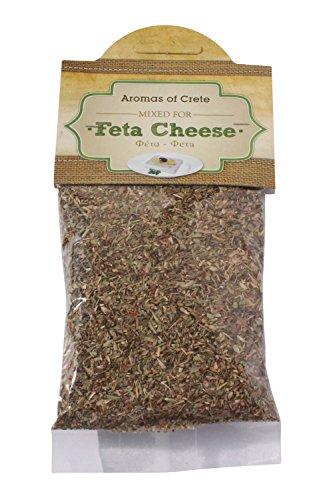 Griechisches Feta Käse Gewürz Gewürzmischung für Schafskäse 35 g Feta Chese Würz Mix von Kreta