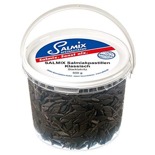 SALMIX Handgefertigte Salmiakpastillen, 1er Pack (1 x 500 g)