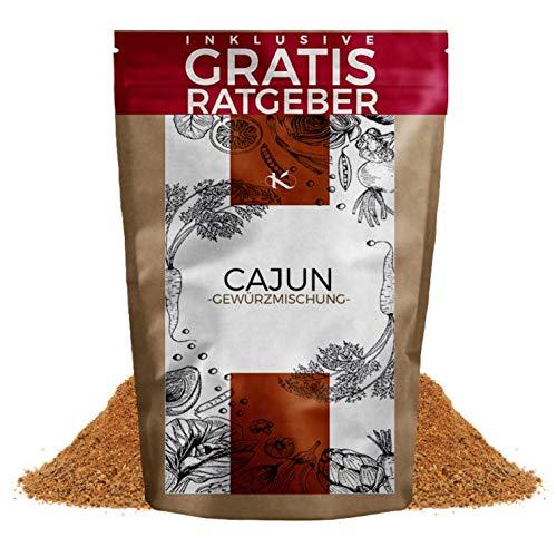 Cajun Gewürz gemahlen 100g | Gewürzmischung scharf für Jambalaya & Gumbo inkl. gratis Ratgeber | Gewürzspezialität aus Cajun-Küche USA spice seasoning