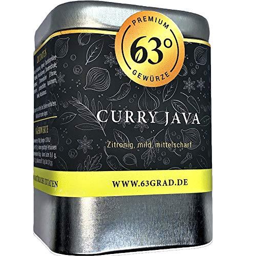 63 Grad - Curry Java - zitronig, mittelscharfe Curry Mischung (70g)