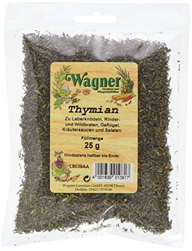 Wagner Gewürze Thymian (1 x 25 g)
