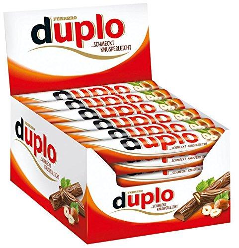 Ferrero Duplo - Schokoriegel - 2 x 40 = 80 Riegel