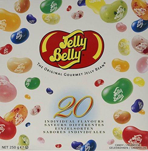Jelly Belly Beans 20 Sorten Geschenkpackung, 1er Pack (1 x 250 g)