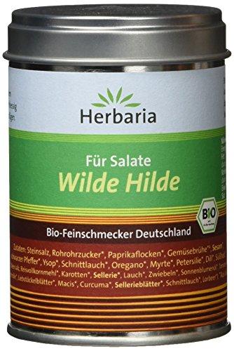 Herbaria 'Wilde Hilde' Mischung für Salatdressing, 1er Pack (1 x 100 g Dose) - Bio