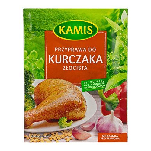 KAMIS Kamis przyprawa do kurczaka zlocista 30g // Gewürz für goldenes Huhn 30g