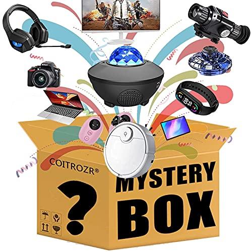 COITROZR Restposten Paket Random Electronic Box Überraschungspaket Elektronik Produkt Gaming Box,Wie Drohnen, Smart Watches, Notebooks Und Mehr