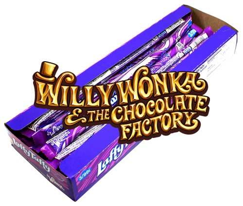 Willy Wonka Laffy Taffy Grape Ropes 24er Packung   Dipworld Edition