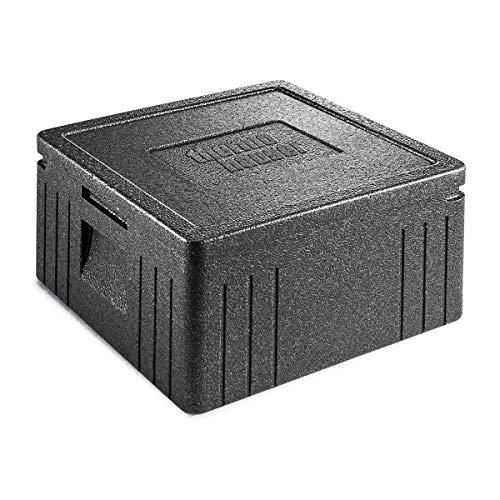 thermohauser EPP-Thermobox Pizza Eco Line inklusive Deckel - 21,5 Liter Volumen - 41 x 41 x 23,5 cm - Pizzabox für Lieferservice
