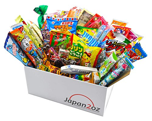 Japanisches Süssigkeiten Box Snack Sortiment 50 Stück Süßigkeiten Dagashi Kit-Kat