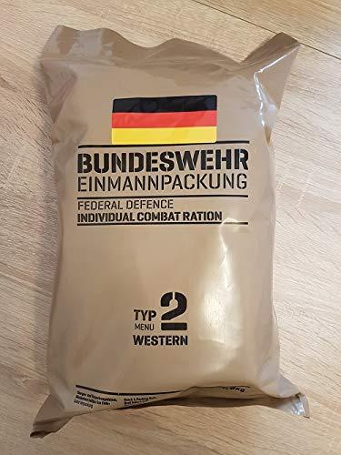 Armee Bundeswehr EPA Western 2 BW MRE EINMANNPACKUNG Camping Essen Food Meal